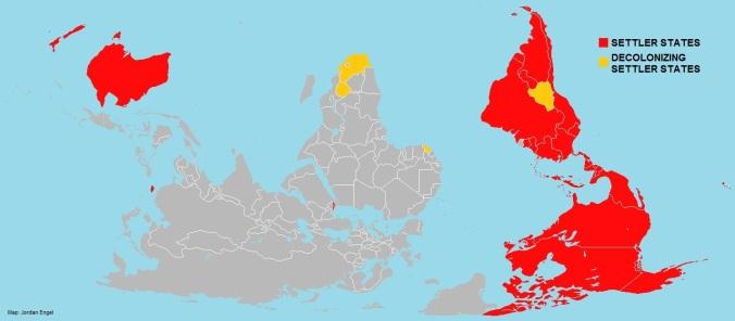 Settler States of the World by Jordan Engel