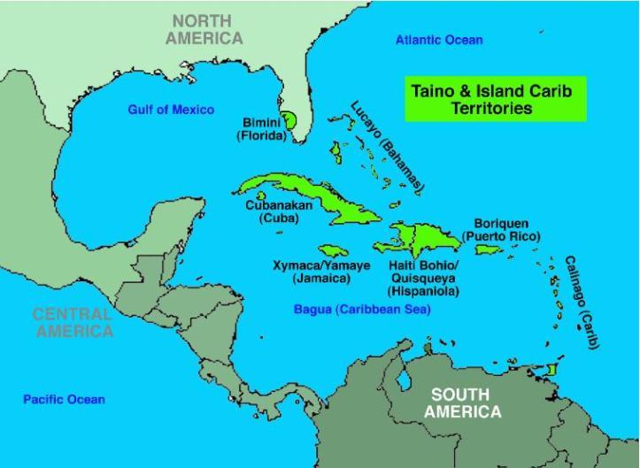 Taino and Island Carib Territories