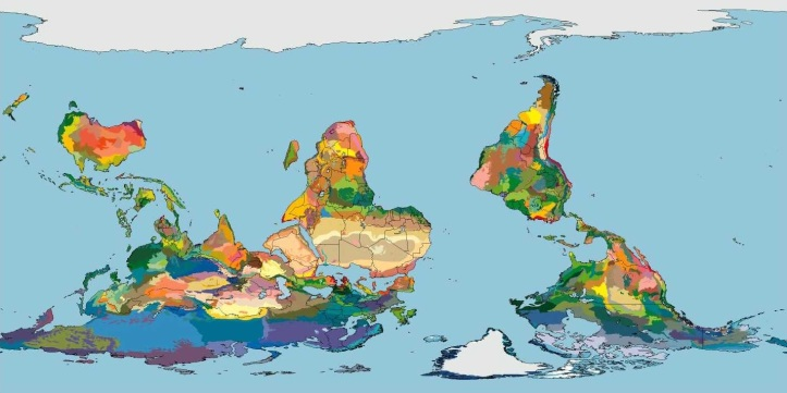 Terrestrial Ecoregions of the World (Olson et al. 2001, BioScience)