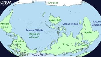 World Maps In Hawaiian The Decolonial Atlas - Hawaii on world map