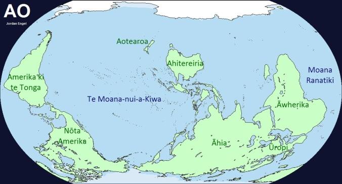 Ao (The Earth) in Māori