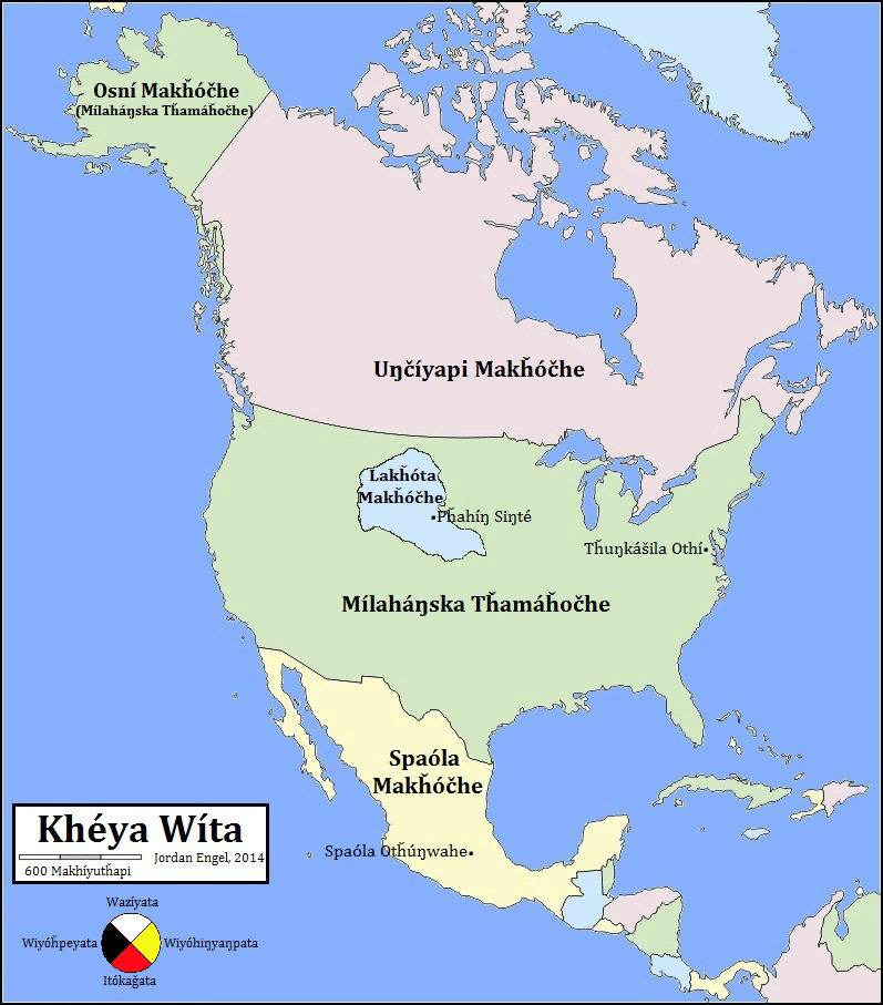 north america in lakota the decolonial atlas