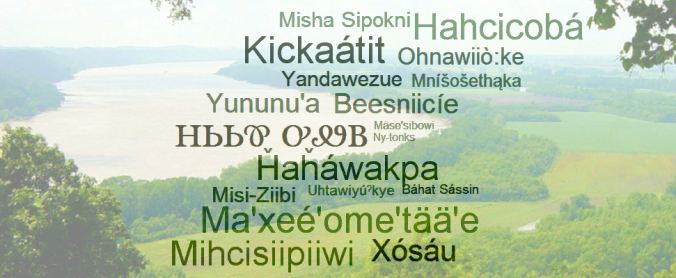 Native Names for the Mississippi River