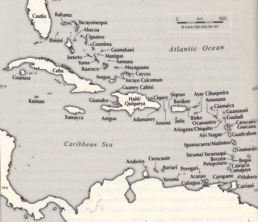 Taino Names Of The Caribbean Islands The Decolonial Atlas