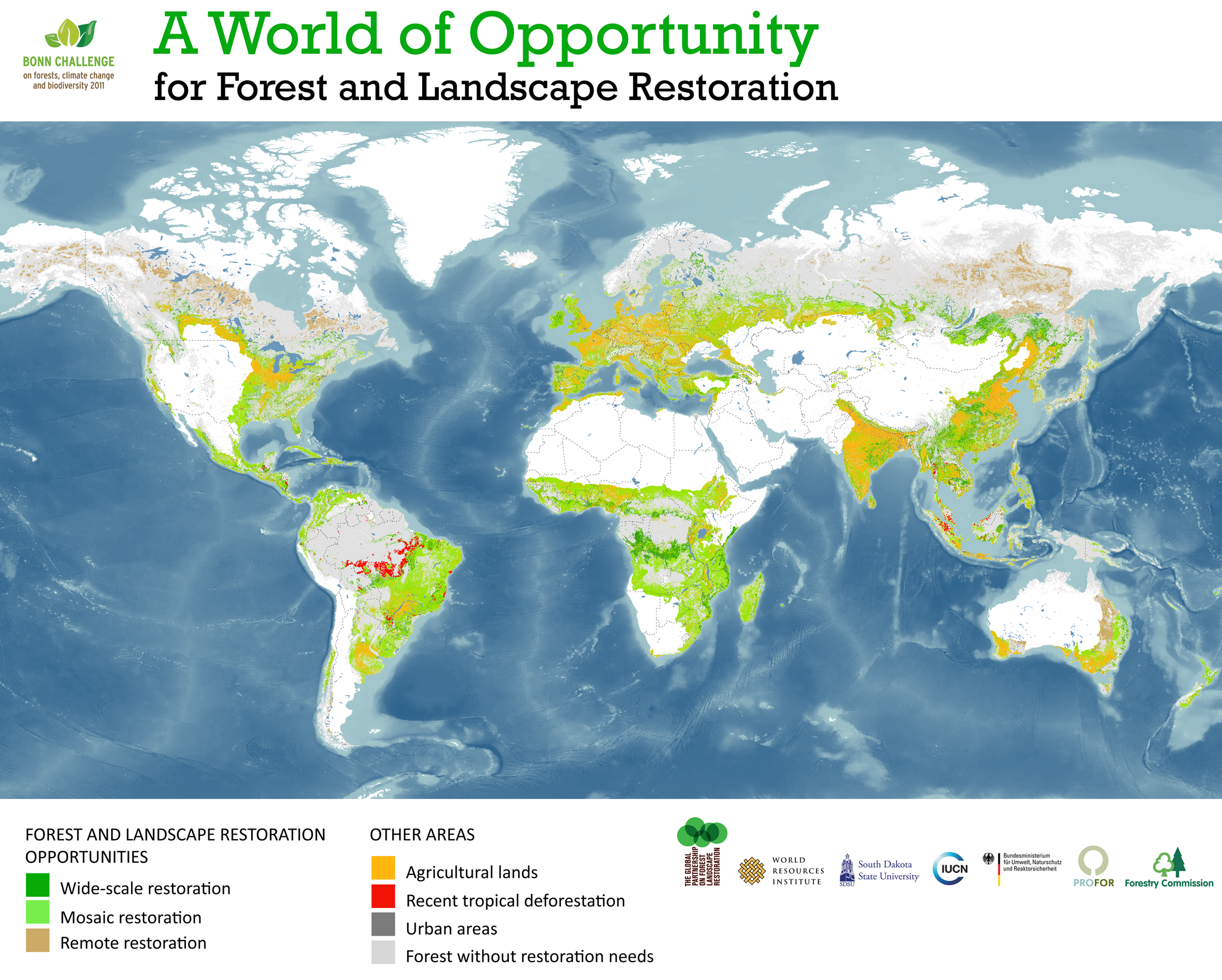 I Need A Map Of The World.Global Forest Restoration Opportunities The Decolonial Atlas