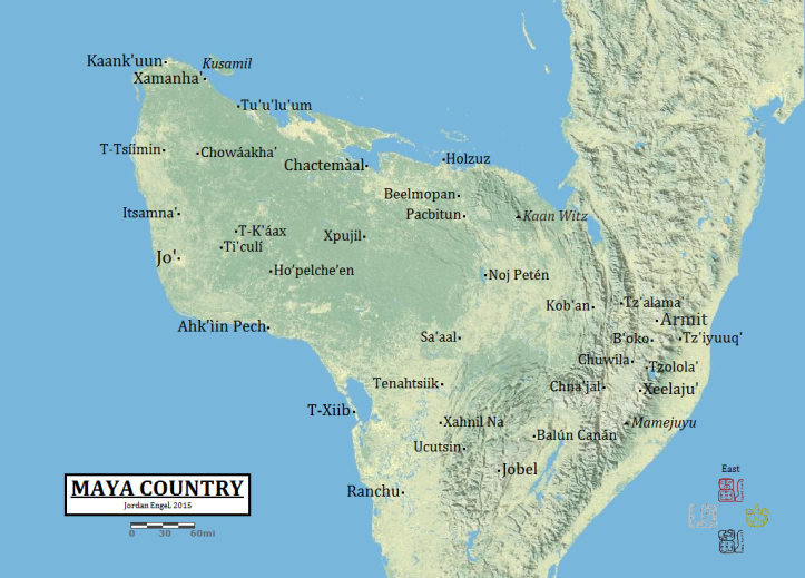Maya Country in the contemporary Mayan Languages, by Jordan Engel