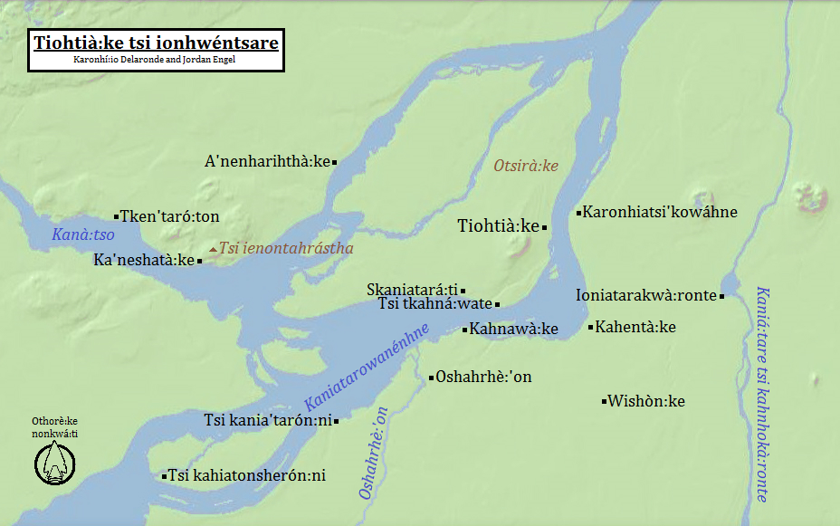 Montreal in Mohawk – The Decolonial Atlas