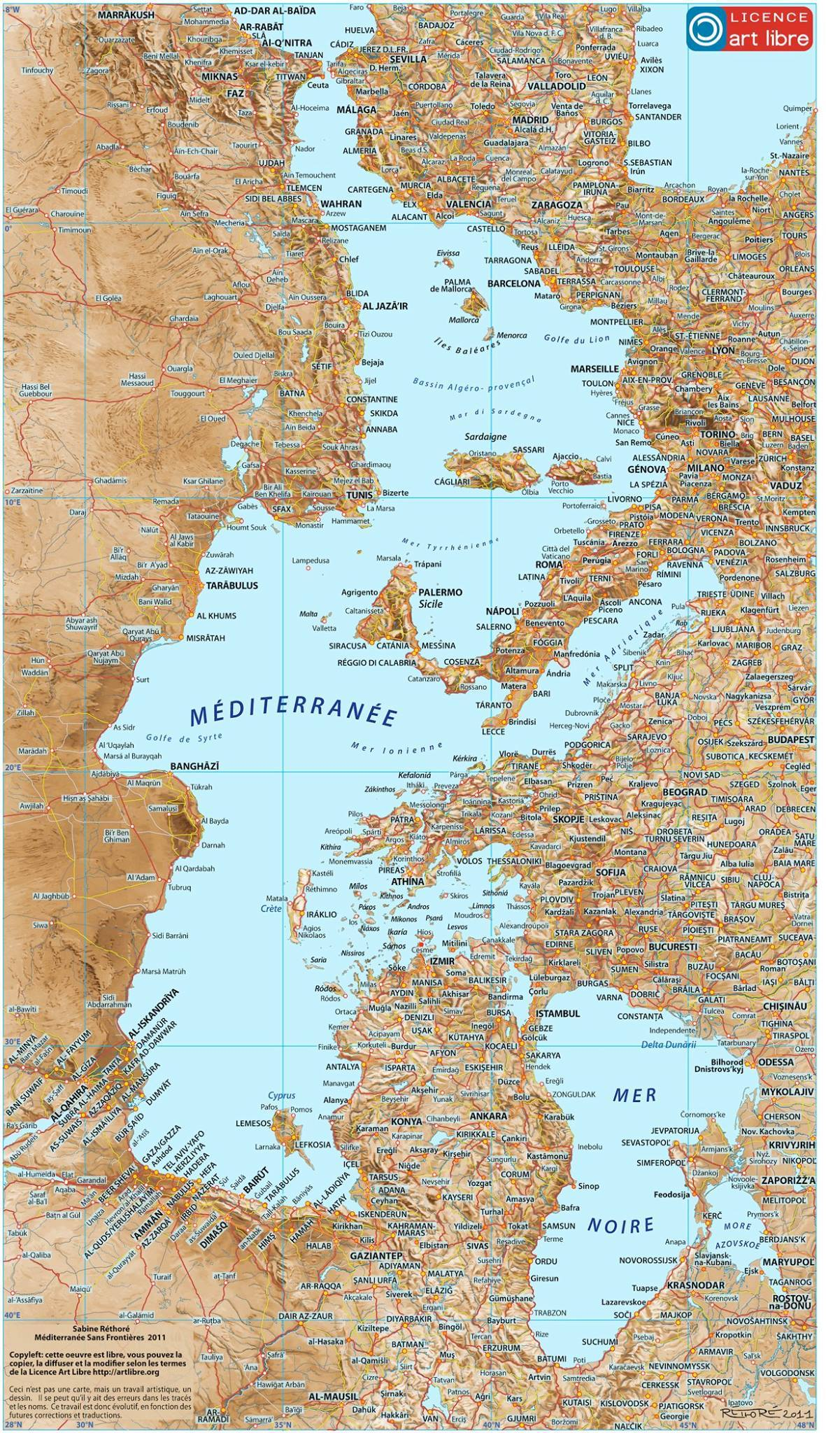 Mediterranean Without Borders – The Decolonial Atlas