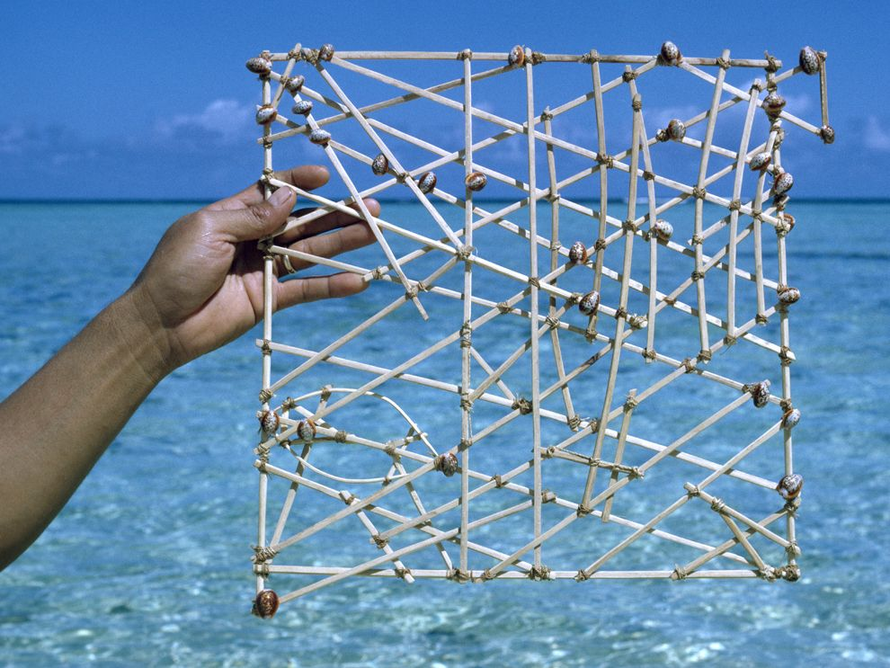 Micronesian Stick Charts The Decolonial Atlas - Polynesian migration map oceania