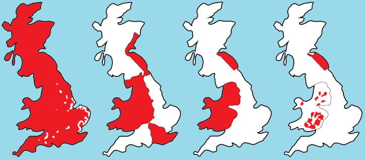 Great Britain as Palestine, by Jordan Engel