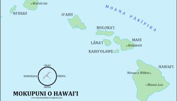 World Maps In Hawaiian The Decolonial Atlas - Hawaii world map
