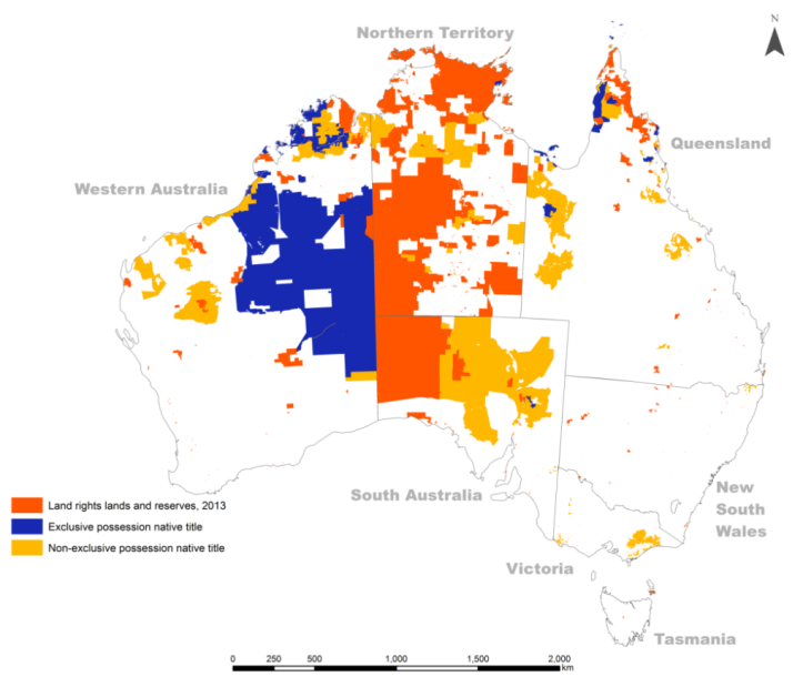Indigenous Land Titling in Australia Under Three Tenures by Francis Markham and Jon Altman