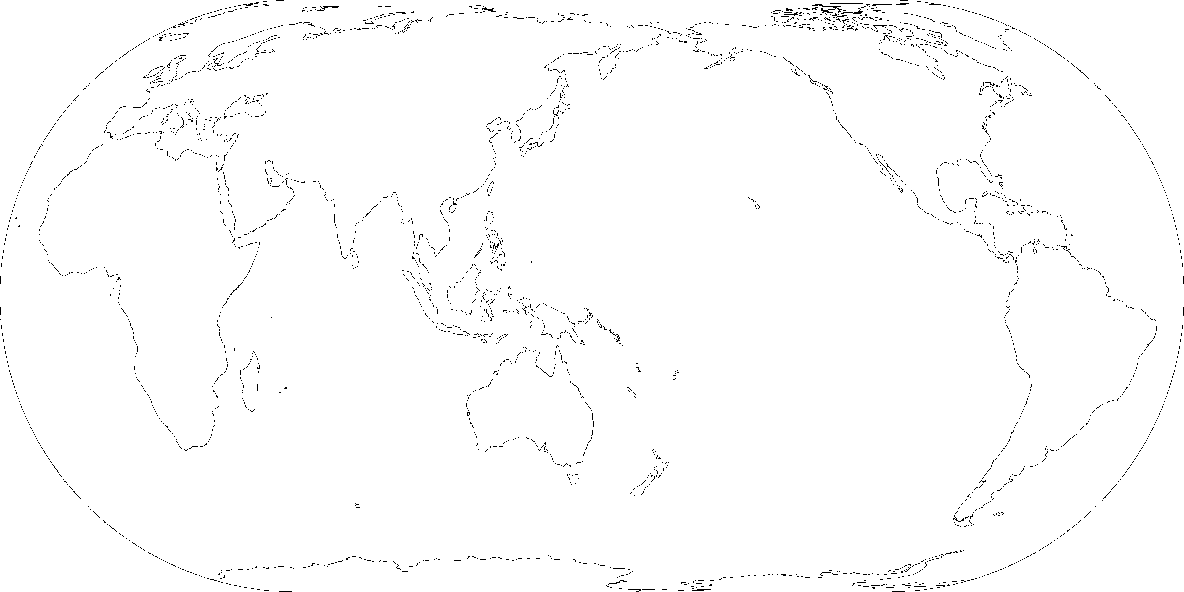 Blank maps make your own the decolonial atlas eckert iv pacific gumiabroncs Image collections