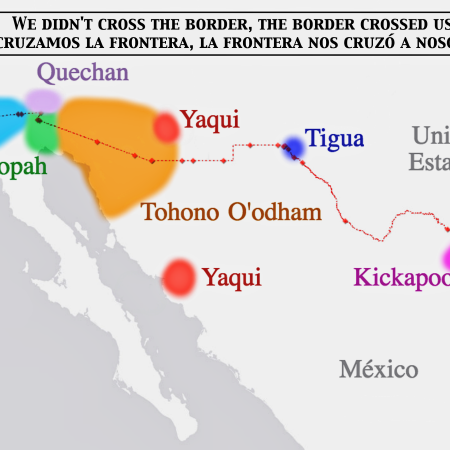 Indigenous Tribes Of Mexico Map.Indigenous The Decolonial Atlas