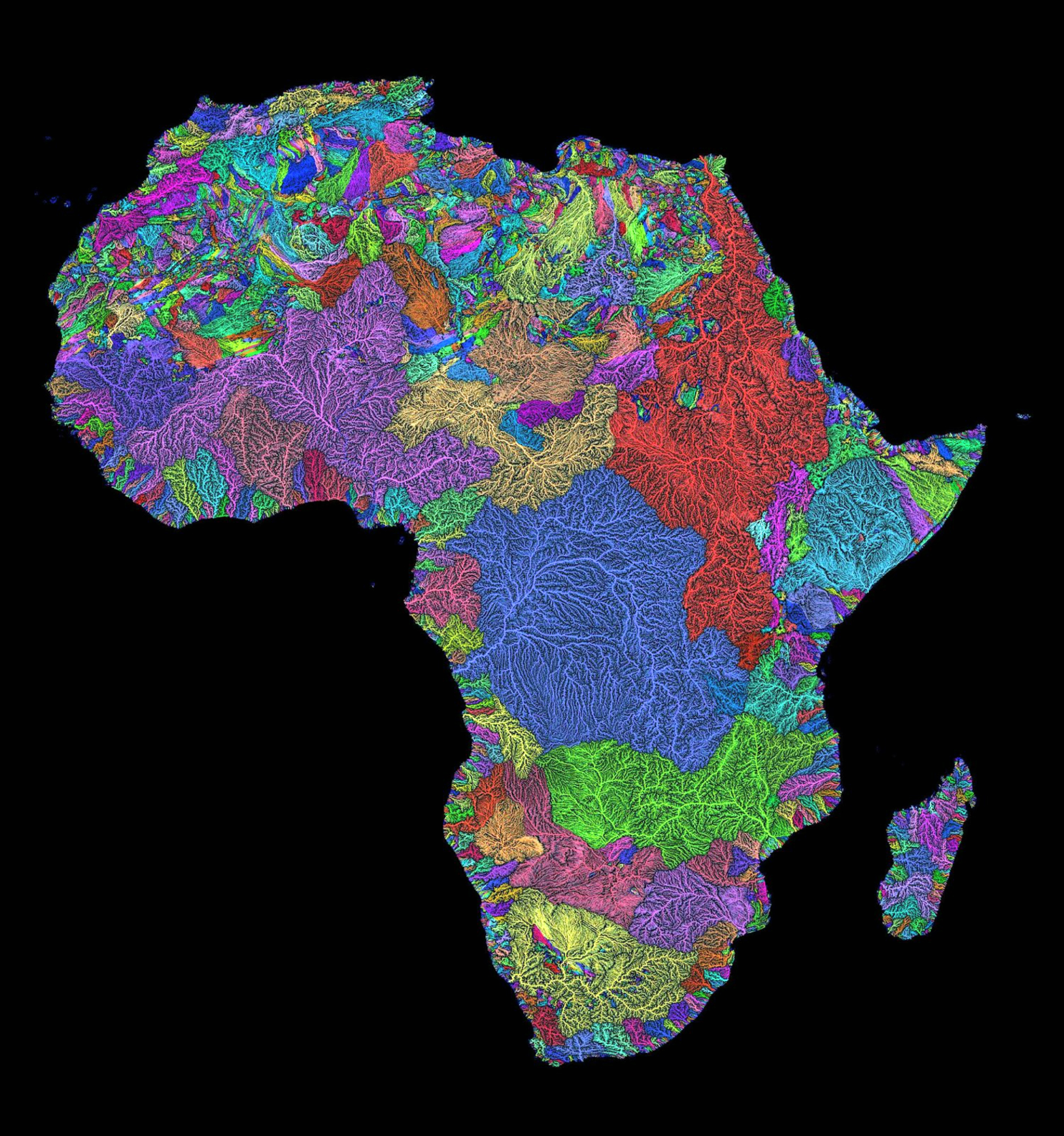 Colorful river basin maps the decolonial atlas watershedsafrica sciox Choice Image