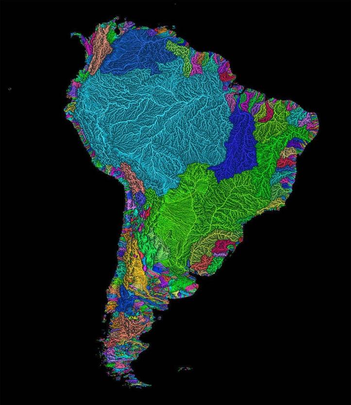 WatershedsSouthAmerica