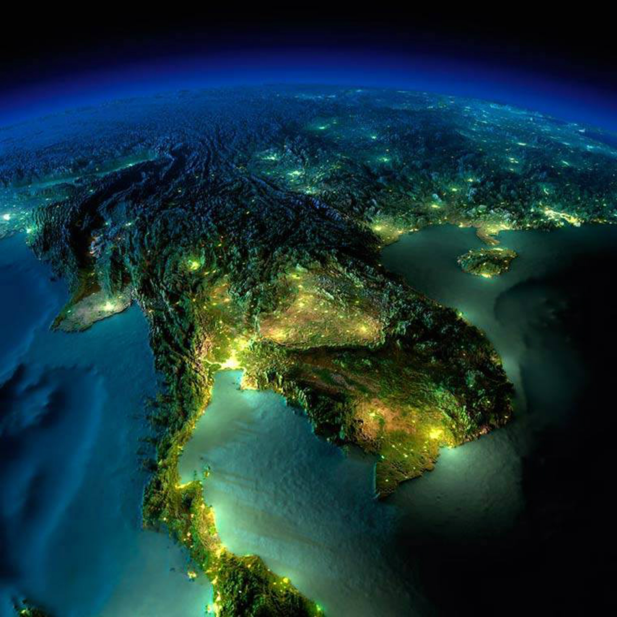 Surreal Images of Earth from Space – The Decolonial Atlas
