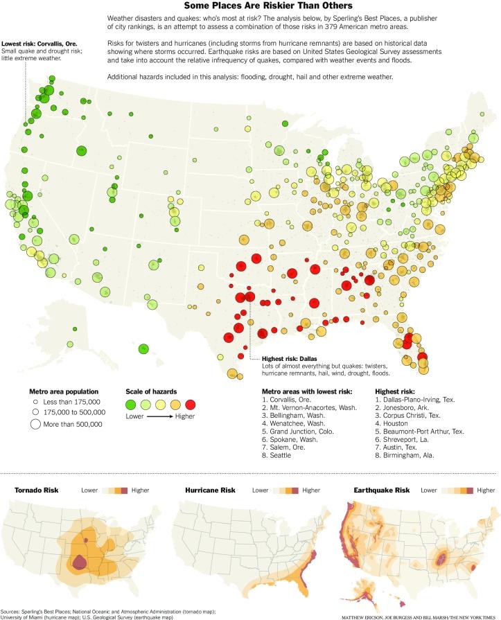Natural-Disaster-Risk-Map