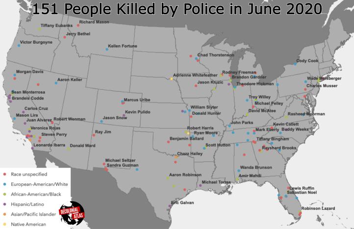 Police Killings June 2020